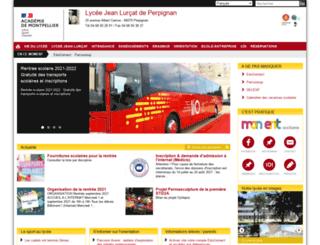 lyc-lurcat-perpignan.ac-montpellier.fr screenshot