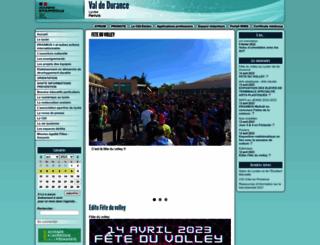 lyc-valdedurance.ac-aix-marseille.fr screenshot
