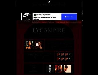 lycampire.forumactif.fr screenshot