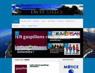 lycee-stella.ac-reunion.fr screenshot