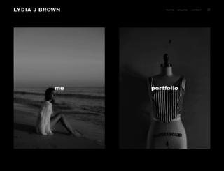lydiajbrown.com screenshot