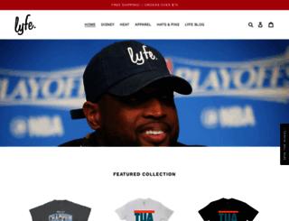 lyfebrand.com screenshot