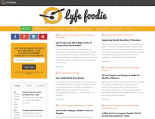 lyfefoodie.com screenshot