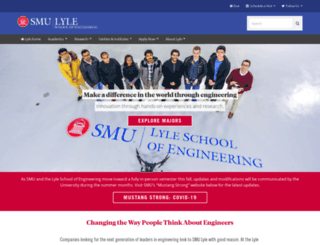 lyle.smu.edu screenshot
