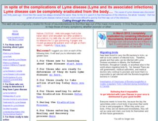 lyme-symptoms.com screenshot