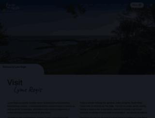 lymeregis.org screenshot