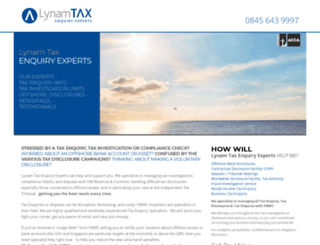 lynamtax.co.uk screenshot