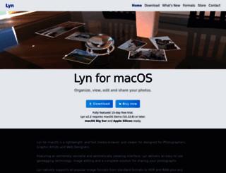 lynapp.com screenshot