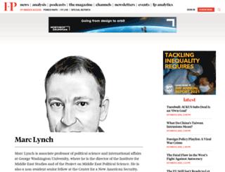 lynch.foreignpolicy.com screenshot