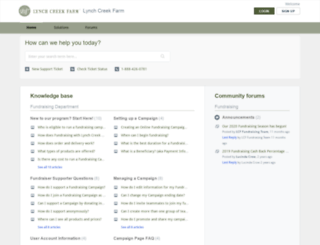 lynchcreekfarm.freshdesk.com screenshot
