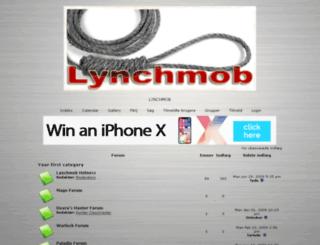 lynchmob.8forum.info screenshot