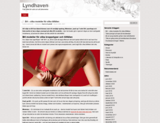 lyndhaven.org screenshot