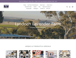 lyndochlavenderfarm.com.au screenshot