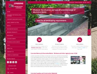 lyndonsmasonry.com.au screenshot