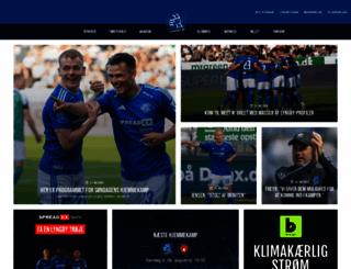 lyngby-boldklub.dk screenshot