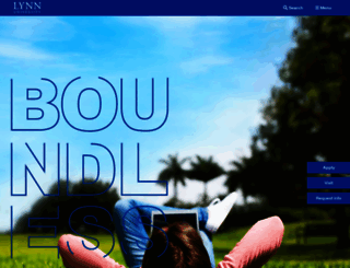lynn.edu screenshot