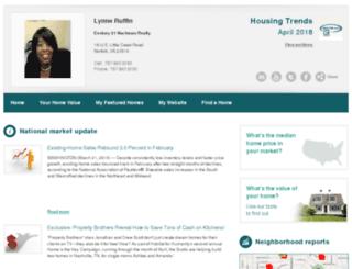 lynneruffin.housingtrendsenewsletter.com screenshot