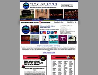 lynnma.gov screenshot