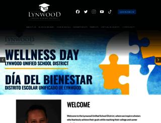 lynwood.k12.ca.us screenshot