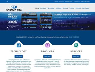 lynxspring.com screenshot