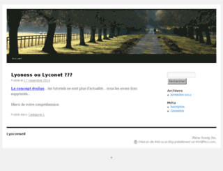 lyoconseil.wordpress.com screenshot