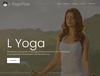 lyogaflow.com screenshot