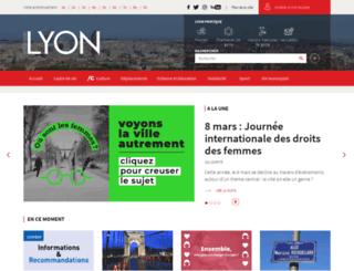 lyon-les-pentes.com screenshot