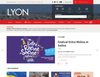 lyon.fr screenshot