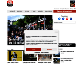 lyoncapitale.fr screenshot