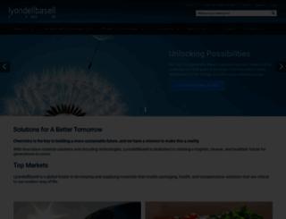 lyondellbasell.com screenshot