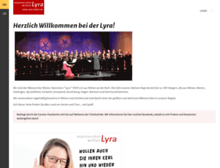 lyra-witten.de screenshot