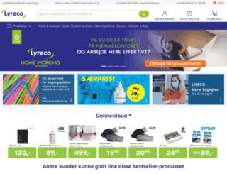 lyreco.dk screenshot