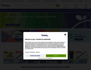 lyreco.fr screenshot