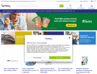 lyreco.nl screenshot