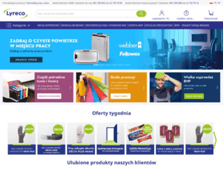 lyreco.pl screenshot