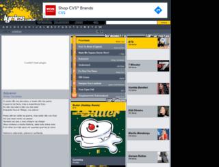 lyrics.com.br screenshot