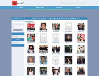 lyricsera.com screenshot