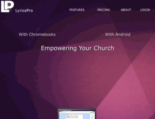 lyricspro.net screenshot