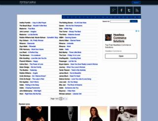 lyricsus.com screenshot