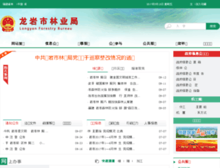 lyslyj.longyan.gov.cn screenshot