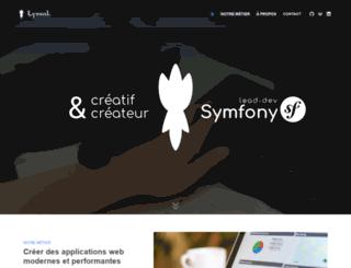 lyssal.fr screenshot