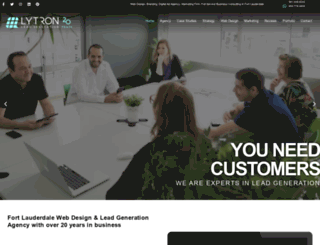 lytrondesign.com screenshot