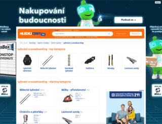lyze-a-snowboardy.hledejceny.cz screenshot