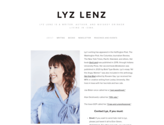 lyzlenz.com screenshot