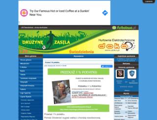 lzs-swiedziebnia.futbolowo.pl screenshot