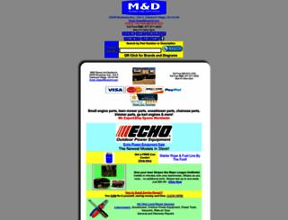 m-and-d.com screenshot