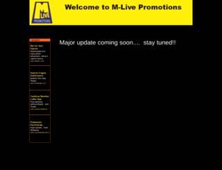 m-livepro.com screenshot