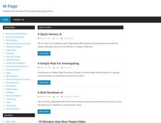 m-page.info screenshot