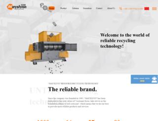m-recycling.com screenshot