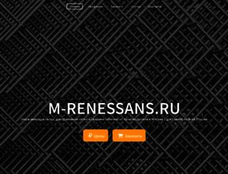 m-renessans.ru screenshot